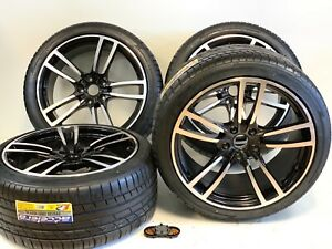 21 Stagger Wheels Rims Tires Fit Porsche Cayenne Gts Turbo Style 5 Double Spok