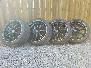 90 93 Toyota Celica Gt 4 17 Oz Racing Veloce Gt Wheel tire Set 4 Nitto Tires