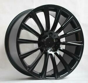 22 Wheels For Mercedes S550 Sedan 4matic 2014 17 Staggered 22x9 10