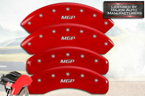 2015 2020 Ford Mustang Ecoboost Std Front Rear Red mgp Brake Caliper Covers