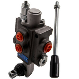 1 Spool Hydraulic Directional Control Valve 11gpm 4300psi Log Splitters Motors
