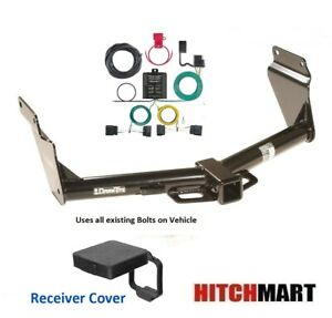 Trailer Hitch Tow Wiring Kit W Cover For 2014 2020 Dodge Durango