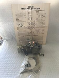 Zenith Carburetor 12552 Wisconsin Engines New