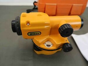 Nikon Ax 1 Ax1 Autolevel Surveying Equipment Level In Case Made In Japan