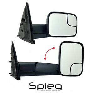 Passenger Side Towing Mirror For 2002 2009 Dodge Ram 1500 2500 Manual Non Heated