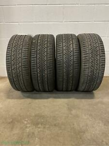 2x P225 55r17 Continental Truecontact Tour Eco 8 32 Used Tires