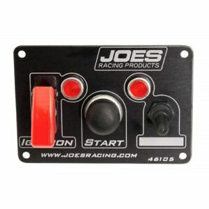 Joes Racing Products 46105 Switch Panel Ignition Start New