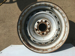Chevrolet Truck Rally Wheel 15 X 8 5 Lug Wheel