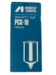 Pcg 10 1000ml Aluminum Gravity Cup Anest Iwata With Lid