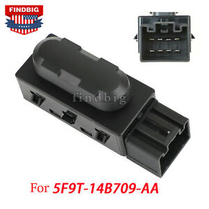 Driver Left 6 Way Power Seat Switch Adjustment For Ford Mercury 5f9t 14b709 Aa