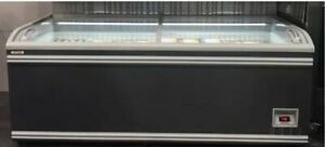 Aht Freezer Paris Sliding Glass Door Retail Chest Display Used For 3 Months