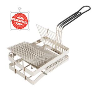 New 19 X 6 5 16 X 8 1 2 Tostada Heavy Duty Fryer Frying Basket
