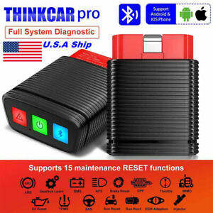 Thinkcar Pro Thinkdiag Obd2 Auto Code Reader Diagnosis Scanner Tpms Abs Immo Srs