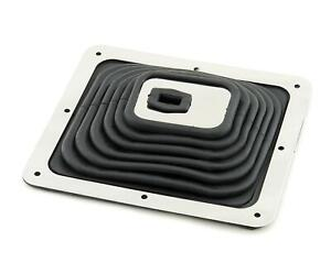 Mr Gasket 9649 Super Shifter Boot Large 9 X 8 With Chrome Trim