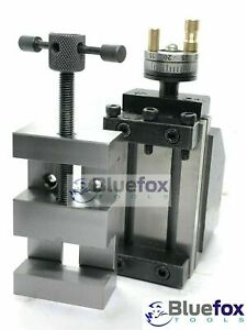 Mini Vertical Slide With 2 50mm Steel Vice instant Milling Toolpost