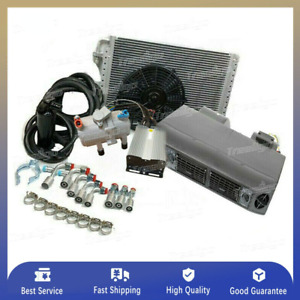 Auto Air Conditioner System Universal Under Dash Evaporator 12 V Ac Compressor