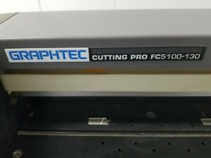 Graphtec Fc5100 130 54 Vinyl Plotter Cutter