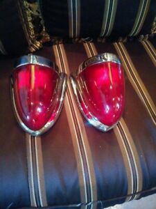 1954 55 Packard Taillights Perfect Condition
