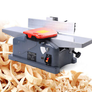 6 9000rpm Bench Jointer Woodworking Planer Machine 1280w W Handle