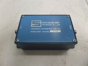 Spectracom 8140t Frequesncy Distribution Line Tap