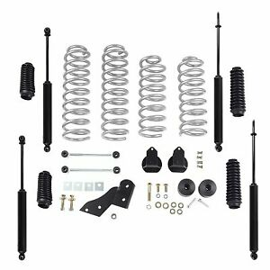 Rubicon Express 2 5 Inch Standard Coil Lift Kit With Twin Tube Shocks Re7141t