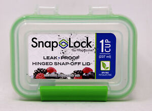 Snap Lock By Progressive 1 Cup Leak Proof Hinged Snap Off Lid Container $10.10