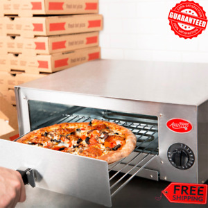 Compact Countertop Pizza Oven Toaster Stainless Steel Commercial Kitchen 120v