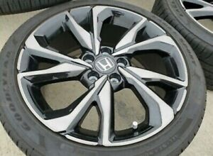 Oem Honda Civic Si 18 Rims And Tires Used Very Good Condition