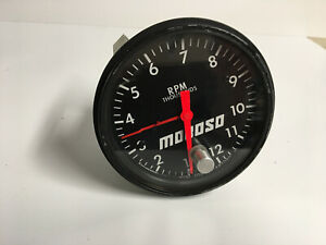 Moroso Cable Driven Tachometer Never Used Good For Rat Rod Or Vintage Racecar