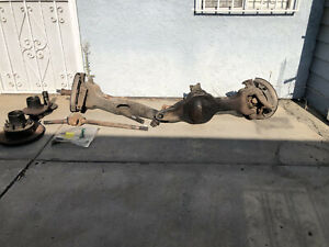 Ford 80 96 Dana 50 D50 Ttb Ifs Snowfighter Complete Front Axle Assembly
