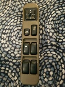 2000 Mitsubishi Montero Sport Driver Left Door Master Power Window Switch 59956