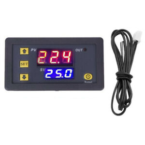 12v Digital Led Microcomputer Thermostat Controller Switch Temperature W Sensor