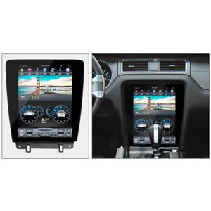 Android 7 Tesla Screen 12 1 Car Radio Gps Navigation For Ford Mustang 2009 2014