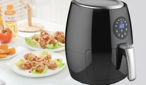 Smart Touch Screen Lcd 3 8qt Digital Electric Air Fryer With Led Touch Display