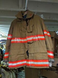 Globe Firefighter Gx 7 Turnout Jacket Coat 42 32