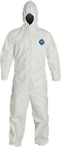 Dupont Tyvek 400 Ty127s Protective Coverall With Hood