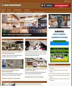 Home Improvement Website Business For Sale Work From Home Internet Business