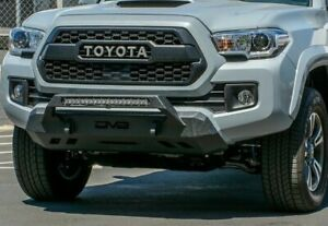 Dv8 2016 Toyota Tacoma Center Mount Winch Capable Front Bumper Offroad