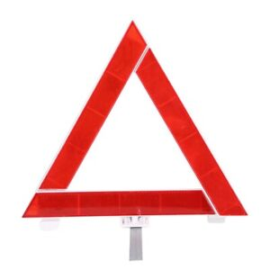 Triangle Sign Foldable Car Reflective Triangle Sign Emergency Breakdown Warning