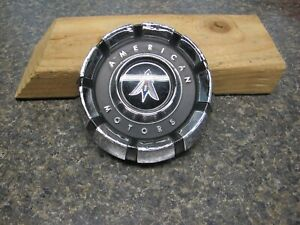 1970 1971 1972 American Motors Hornet Chrome Gas Cap Very Nice Condition