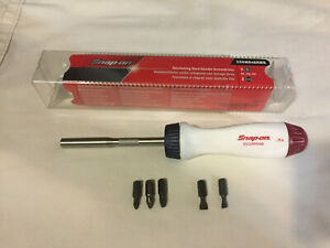 Snap On Tools Ratcheting Screwdriver New Ssdmr4brwb Special Edition