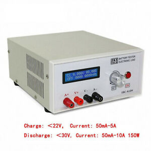 Battery Capacity Charge Tester Machine Electronic Load Mobile Power Head Testing