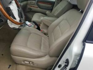 2007 Lexus Lx470 Driver Left Front Seat Power Tan Ivory Leather