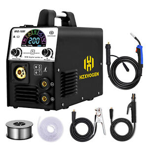 3in1 Lcd Display Mig Welding Machine 220v 160a Mma Arc Lift Tig Welder Upgrade