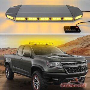 88 Led Emergency Strobe Lights Bar Roof Warn Beacon Tow Truck Response Red 47