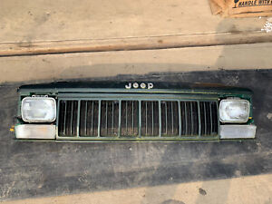 Jeep Cherokee Xj Header Panel Assembly Green Oem 1991 1996