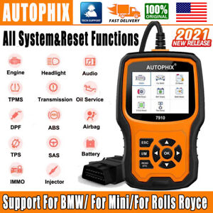 Launch Obd2 Scanner Dpf Srs Epb Sas Abs Oil Code Reader Engine Diagnostic Tool