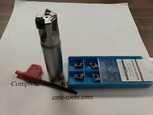 3 4 90 Indexable End Mill 3 4 x3 5 10 Extra Inserts Sandvik R390 506 sdvk