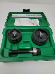 Brand New Greenlee 737bb 1 1 2 2 Manual Knockout Punch Kit Free Shipping