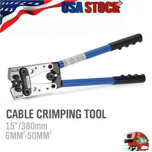 Cable Lug Crimping Tool For Wire Lugs battery Terminal copper Lugs 6 50mm